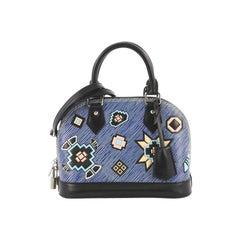 Louis Vuitton Alma Handbag Limited Edition Azteque Epi Leather BB