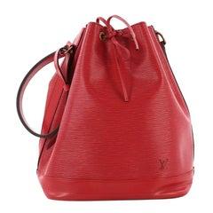 Louis Vuitton Noe Handbag Epi Leather Large