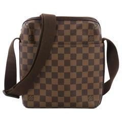 Louis Vuitton Trotteur Beaubourg Handbag Damier