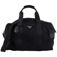 Prada Weekender Duffle Bag Tessuto Large