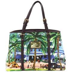 Louis Vuitton Ailleurs Cabas Limited Edition Printed Canvas PM