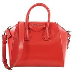 Givenchy Antigona Bag Glazed Leather Mini,