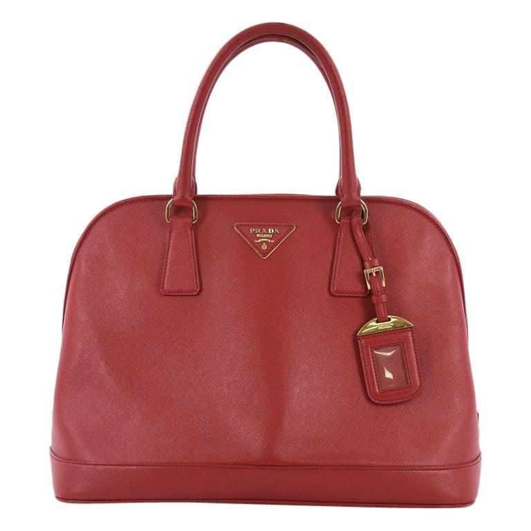 840be83976e9 Prada Open Promenade Handbag Saffiano Leather Medium For Sale at 1stdibs