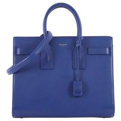 Saint Laurent Sac de Jour Handbag Leather Small