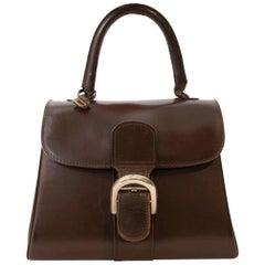 Delvaux Vintage Brown Boxcalf Brillant PM