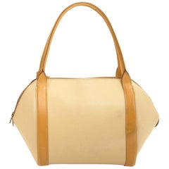 Delvaux Bicolor Perle PM Jumping Bag
