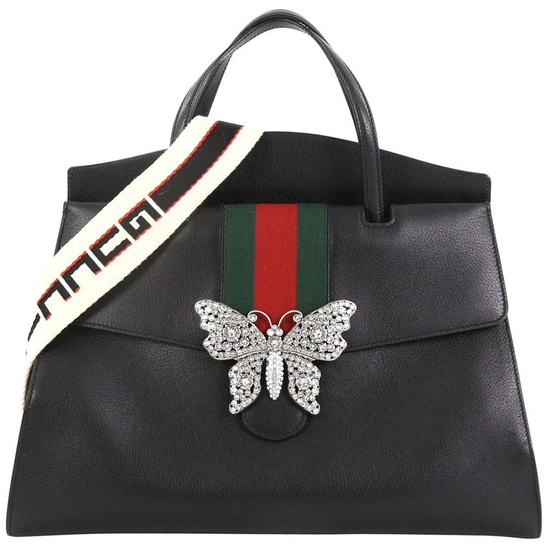 c1e37f2a8 Gucci Totem Top Handle Bag Leather Large at 1stdibs