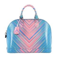 Louis Vuitton Alma Handbag Limited Edition Tropical Epi Leather PM