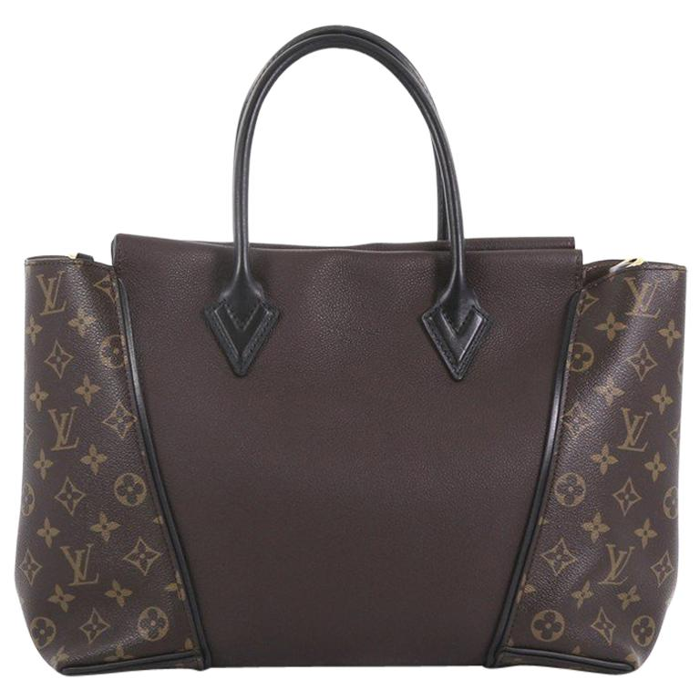 5358dadee052 Louis Vuitton W Tote Monogram Canvas and Leather PM For Sale at 1stdibs