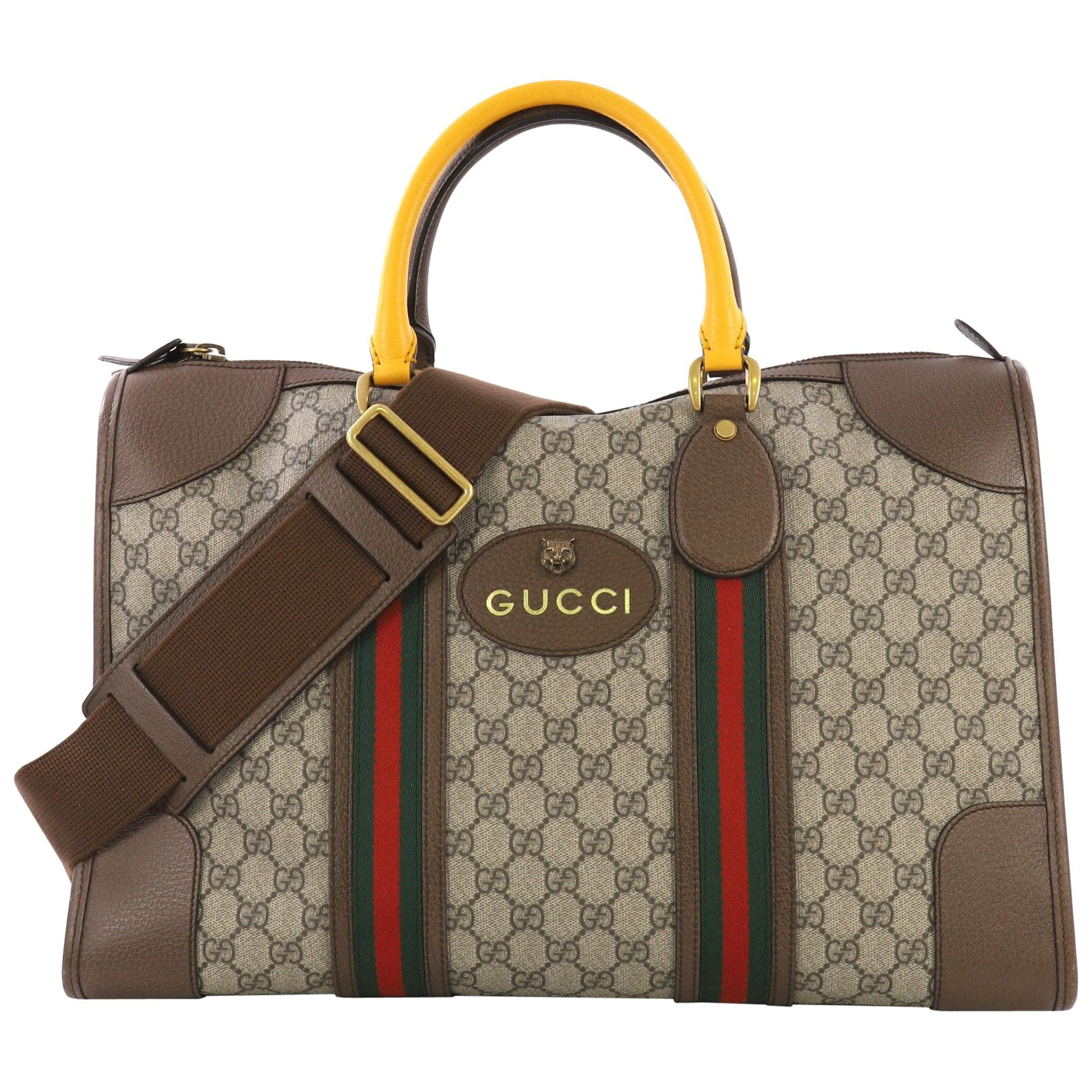 181b848c7d3 Vintage Gucci Luggage and Travel Bags - 84 For Sale at 1stdibs
