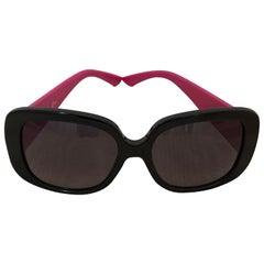 Christian Dior Dior Lady Lady 1S Cannage Temple Sunglasses w/Box