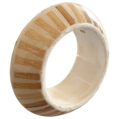 Unusual Lucite bangle by Kenneth Jay Lane KJL