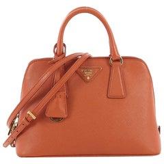 99d1be17ae56 Prada Galleria Saffiano Peach Coral Ostrich Leather Tote Bag at 1stdibs