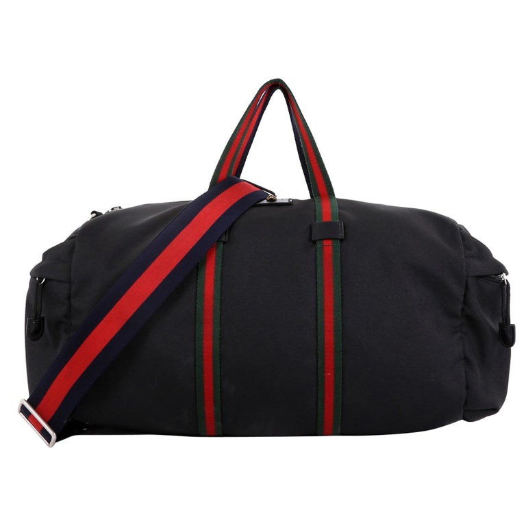 c3b6672335e Gucci Technical Duffle Bag Techno Canvas Large For Sale at 1stdibs