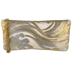 A Contemporary 'Chiyoko' clutch bag in vintage Japanese brocade fro
