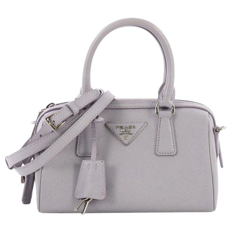 e2017ac9429c Prada Lux Convertible Boston Bag Saffiano Leather Small For Sale at ...