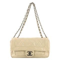 Chanel Coco Rider Flap Bag Quilted Aged Calfskin Medium