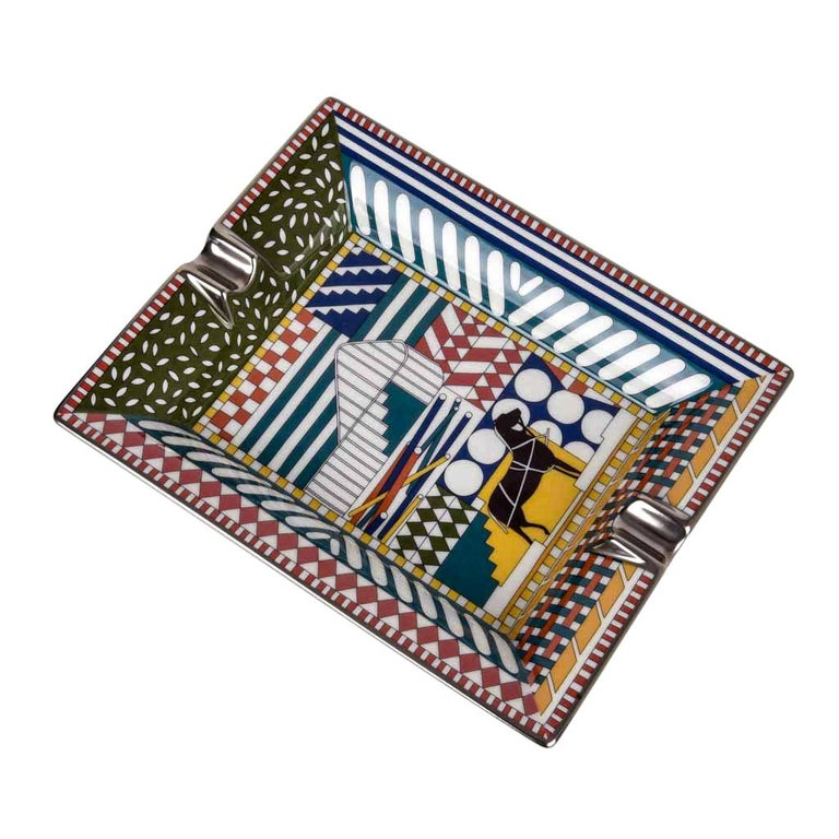 Hermes Change Tray Au Faubourg Limoges Porcelain New For Sale