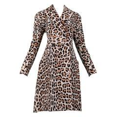 Vintage Azzedine Alaia Iconic Pony Hair Leopard Coat