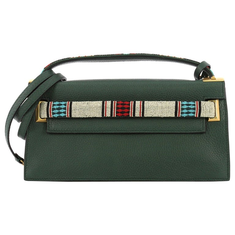 350245c6a27 Valentino My Rockstud Clutch Tribal Embellished Leather For Sale at ...