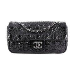 Chanel Rock In Moscow Flap Bag Patent Vinyl Medium