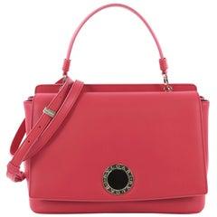 Bvlgari Top Handle Bag Leather Small