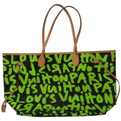 fe01d7d3ccc4 Louis Vuitton Stephen Sprouse Green Graffiti GM