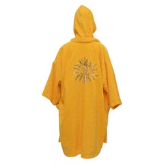 Chanel x Pharrell Capsule Collection Bathrobe Saffron  Lesage Embroidery M  NEW