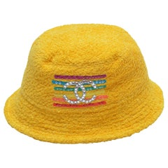 Chanel x Pharrell Capsule Collection Bucket Hat  Yellow  L NEW
