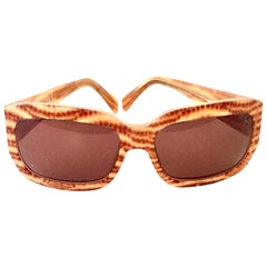 21st Century Animal Print Sunglasses By, Salvatore Ferragamo