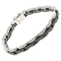 Chanel Ultra Black Ceramic White Gold Bracelet