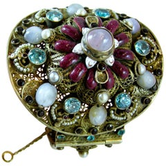 Vintage Outstanding 30s Austro Hungarian Cuff Bracelet