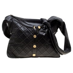 Chanel Black Quilted Leather Girl Chanel Bag