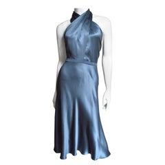 Tom Ford for Gucci Silk Halter Dress