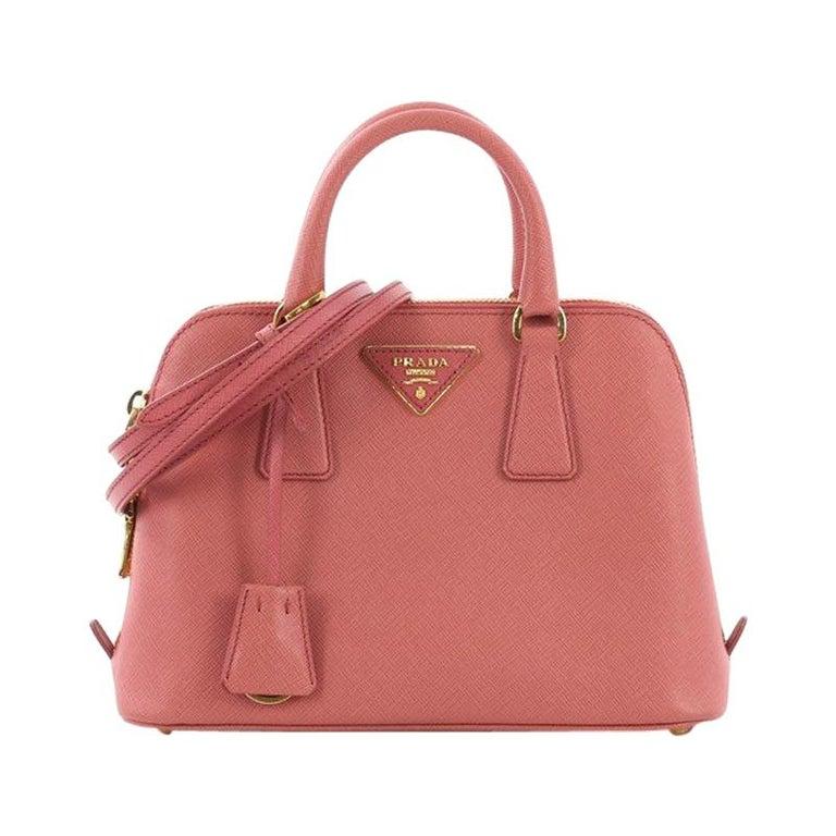 84311951f970 Prada Promenade Handbag Saffiano Leather Small For Sale at 1stdibs