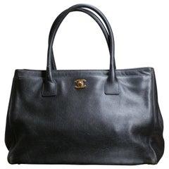 Chanel Cerf Tote Handbag