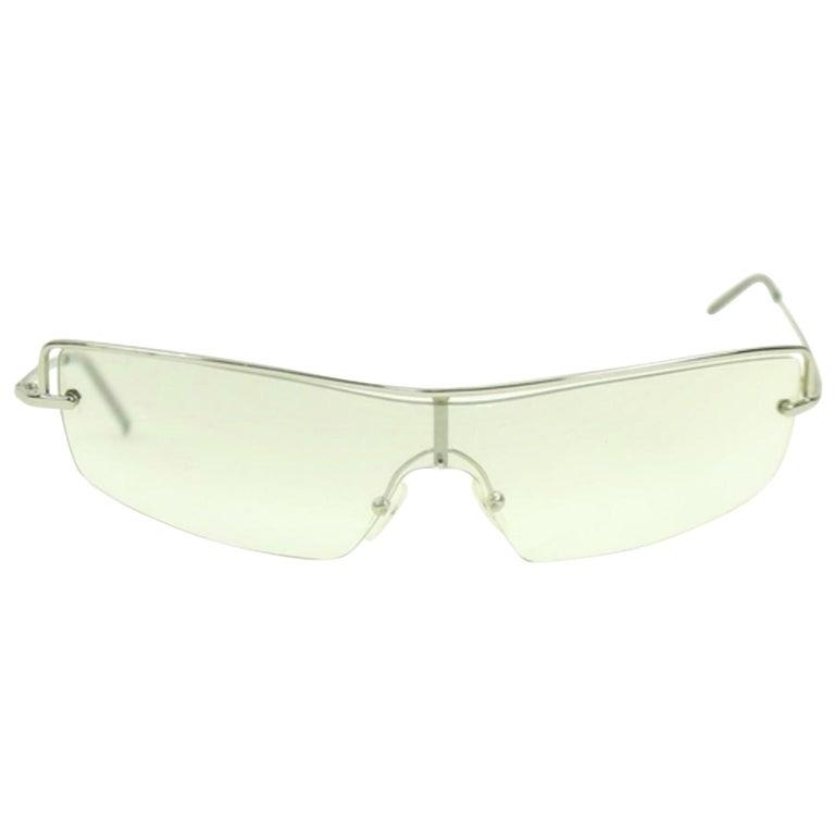 dcc680e4d55 Gucci Silver Ggsl28 2683 Sunglasses For Sale at 1stdibs