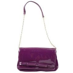 Kate Spade Kslm3 Purple Patent Leather Shoulder Bag