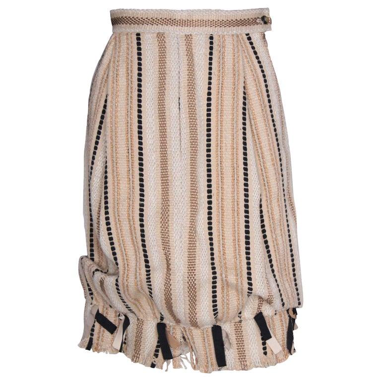 A 2000 Yves Saint Laurent Rive Gauche Bubble Skirt For Sale