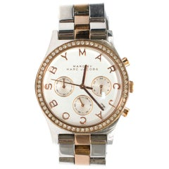 Marc by Marc Jacobs Silver Henry Chronograph Watch