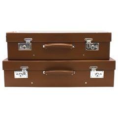 Bentley Classic Tan Leather Suitcase 35 x 60 cm