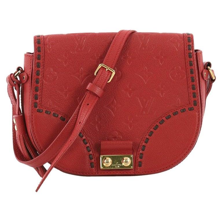 5760d67e47122 Louis Vuitton Junot Handbag Monogram Empreinte Leather For Sale at ...