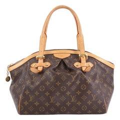 Louis Vuitton Tivoli Handbag Monogram Canvas GM