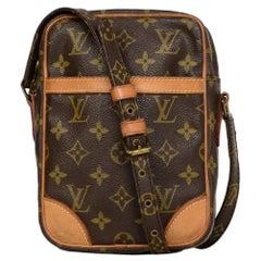 Louis Vuitton LV Monogram Canvas Danube Crossbody Camera Bag