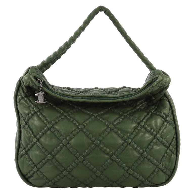 591e4720ed41 Chanel Hidden Chain Hobo Quilted Lambskin Large For Sale at 1stdibs