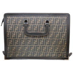 Gray Briefcases and Attachés