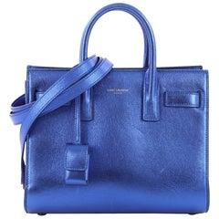 Saint Laurent Sac de Jour Handbag Leather Nano