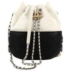 651b4df7b5b8 Chanel Gabrielle Drawstring Bag Quilted Calfskin Small