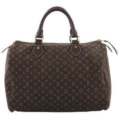 Louis Vuitton Speedy Handbag Mini Lin 30