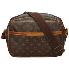 Louis Vuitton Brown Monogram Canvas Canvas Monogram Reporter PM France